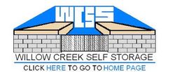 Willow Creek Self Storage logo